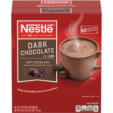 NES 70060 Nestle Dark Chocolate Flavor Hot Cocoa Mix NES70060