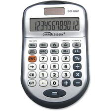 CCS 22087 Compucessory 22087 12-digit Desktop Calculator CCS22087