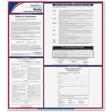 TFP E10AK TFP Data Sys. Alaska State Labor Law Poster TFPE10AK
