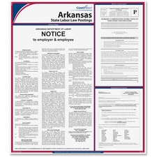 TFP E10AR TFP Data Sys. Arkansas State Labor Law Poster TFPE10AR