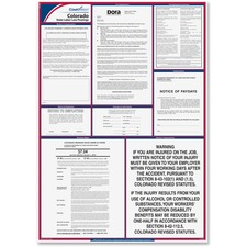TFP E10CO TFP Data Sys. Colorado State Labor Law Poster TFPE10CO