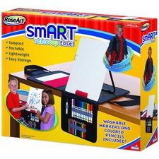 BDU 48504 Board Dudes Tabletop Smart Art Dry-erase Easel BDU48504