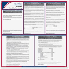 TFP E10HI TFP Data Sys. Hawaii State Labor Law Poster TFPE10HI