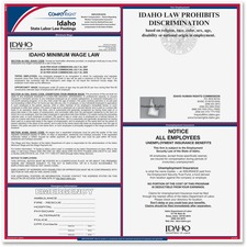 TFP E10ID TFP Data Sys. Idaho State Labor Law Poster TFPE10ID