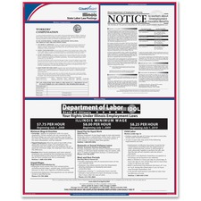 TFP E10IL TFP Data Sys. Illinois State Labor Law Poster TFPE10IL