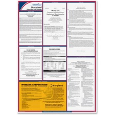 TFP E10MD TFP Data Sys. Maryland State Labor Law Poster TFPE10MD