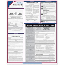 TFP E10MA TFP Data Sys. Massachusetts State Labor Law Poster TFPE10MA