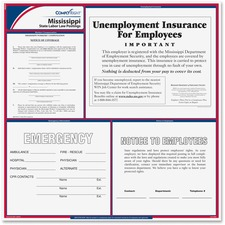TFP E10MS TFP Data Sys. Mississippi State Labor Law Poster TFPE10MS