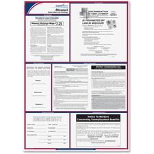 TFP E10MO TFP Data Sys. Missouri State Labor Law Poster TFPE10MO