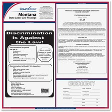 TFP E10MT TFP Data Sys. Montana State Labor Law Poster TFPE10MT