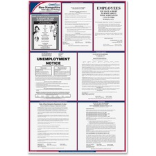 TFP E10NH TFP Data Sys. New Hampshire State Labor Law Poster TFPE10NH