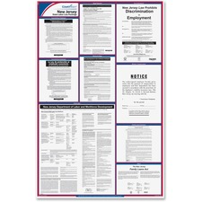 TFP E10NJ TFP Data Sys. New Jersey State Labor Law Poster TFPE10NJ