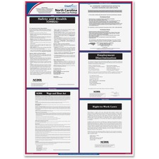 TFP E10NC TFP Data Sys. N. Carolina State Labor Law Poster TFPE10NC