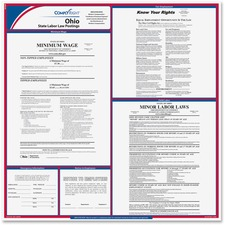 TFP E10OH TFP Data Sys. Ohio State Labor Law Poster TFPE10OH