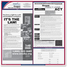 TFP E10OR TFP Data Sys. Oregan State Labor Law Poster TFPE10OR