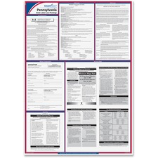 TFP E10PA TFP Data Sys. Pennsylvania State Labor Law Poster TFPE10PA