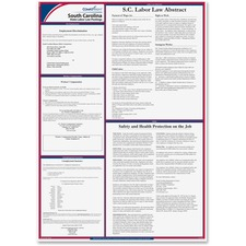 TFP E10SC TFP Data Sys. S. Carolina State Labor Law Poster TFPE10SC