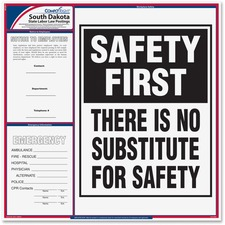 TFP E10SD TFP Data Sys. S. Dakota State Labor Law Poster TFPE10SD