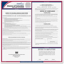 TFP E10DC TFP Data Sys. Washington DC State Labor Law Poster TFPE10DC