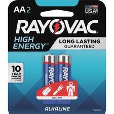 RAY 8152J Rayovac Alkaline AA Batteries RAY8152J