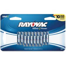 RAY 82416SC Rayovac Alkaline AAA Batteries RAY82416SC