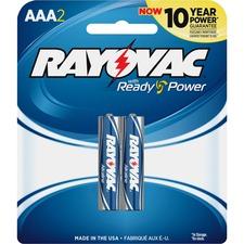 RAY 8242J Rayovac Alkaline AAA Batteries RAY8242J
