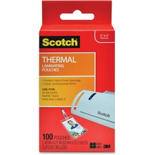 MMM TP5852100 3M Scotch Thermal Laminating Pouches MMMTP5852100