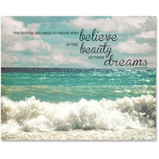 AVT 78090 Advantus Believe Motivational Canvas Print AVT78090