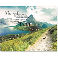 AVT 78092 Advantus Leave A Trail Motivational Canvas Print AVT78092
