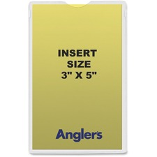 ANG 142050 ANGLER'S Heavy Crystal Clear Poly Envelopes ANG142050