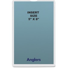 ANG 145250 ANGLER'S Heavy Crystal Clear Poly Envelopes ANG145250
