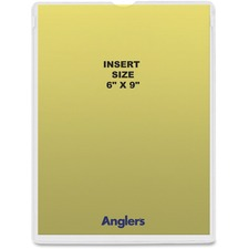 ANG 1456P50 ANGLER'S Self-stick Crystal Clear Poly Envelopes ANG1456P50