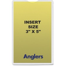 ANG 1420P50 ANGLER'S Self-stick Crystal Clear Poly Envelopes ANG1420P50