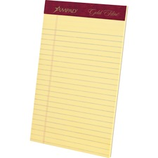 TOP 20029 Tops Gold Fibre Premium Jr. Legal Writing Pads TOP20029