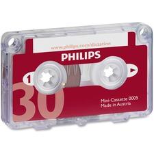 PSP LFH000560BX Philips Speech Mini Dictation Cassette PSPLFH000560BX