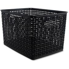 AVT 40328 Advantus Plastic Weave Bin AVT40328