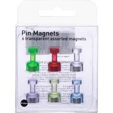 BVC IM356601 Bi-silque Pushpin Magnets BVCIM356601