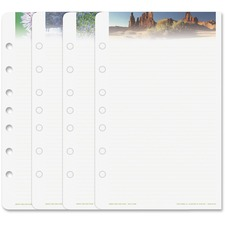 DTM 13698 Day-Timer Serenity Note Pads Planner Refill Pages DTM13698