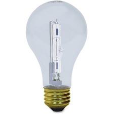 GEL 78798 GE Lighting 72W Crystal Clear A19 Halogen Bulb GEL78798