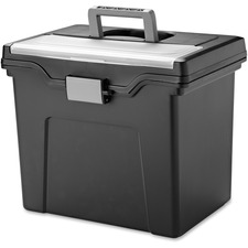IRS 110977 Iris Portable Letter-size File Box IRS110977