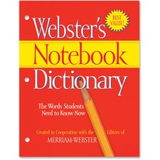MER FSP0566 Merriam-Webster's Notebook Dictionary MERFSP0566