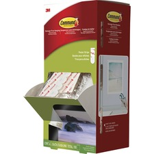 MMM 17024CABPK 3M Command Small Poster Strips Pack MMM17024CABPK