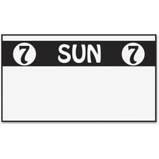 MNK 925210A Monarch Freezer-proof Days of the Week Labels MNK925210A