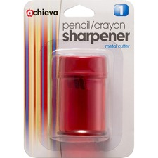 OIC 30240 Officemate Double Barrel Pencil/Crayon Sharpener OIC30240