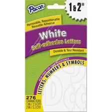 PAC 51664 Pacon Reusable Self-Adhesive Letters PAC51664