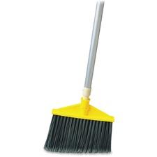 RCP 638500GRA Rubbermaid Comm. Aluminum Handle Angle Broom RCP638500GRA