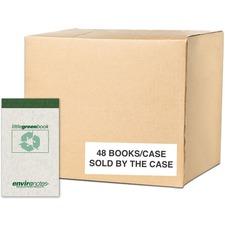 ROA 77355 Roaring Spring Narrow Rule Little Green Notebook ROA77355