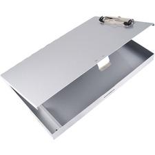 SAU 45300 Saunders Tuff Writer Recycled Aluminum Clipboard SAU45300