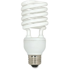 SDN S6274 Satco 23-watt T2 Spiral CFL Bulb 3-pack SDNS6274