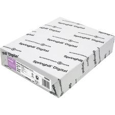 SGH 016000 Springhill Vellum Bristol Cover Paper SGH016000